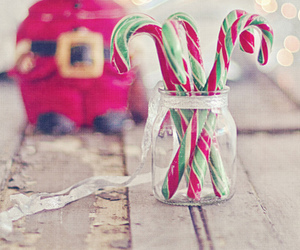 christmas, candy, and food image