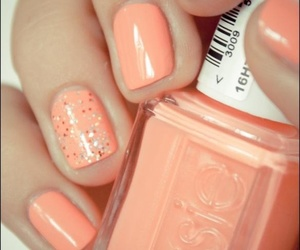 nails, nail polish, and essie image