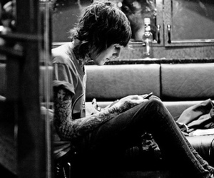 oliver sykes, bmth, and boy image