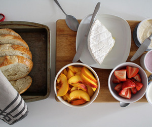 breakfast, food, and bread image