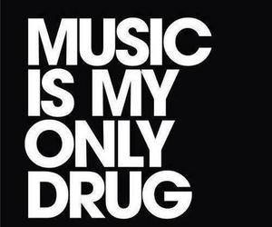 music, drugs, and quotes image