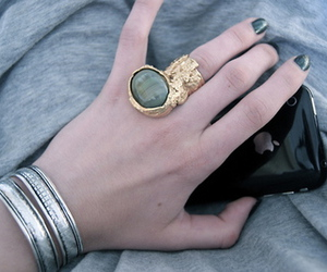 ring, YSL, and iphone image