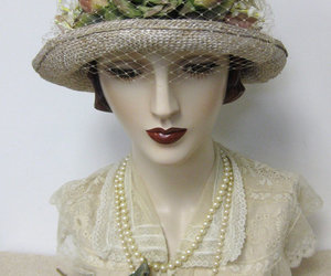 cloche, wedding hat, and hat image