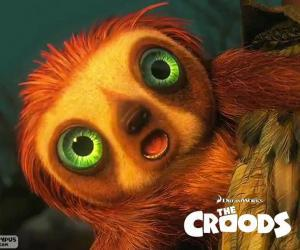 belt, sloth, and the croods image