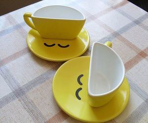 cup, smile, and funny image