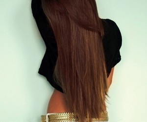beautiful, cropped, and long hair image