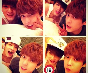 minhyuk, peniel, and btob image