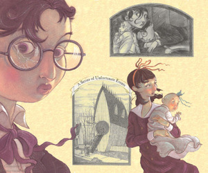A Series of Unfortunate Events, baudelaire, and lemony snicket image