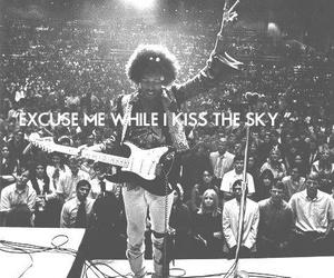 Jimi Hendrix, music, and guitar image