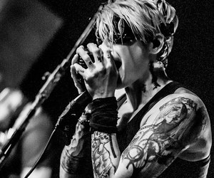 black and white, otep, and photography image