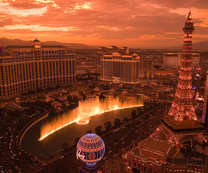 Las Vegas, paris, and city image