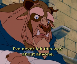 beauty and the beast, disney, and quote image