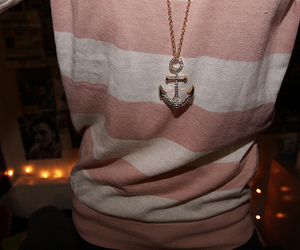 anchor, photography, and necklace image