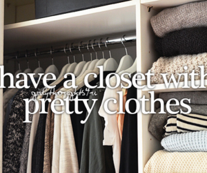 clothes, closet, and girl image