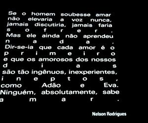 amor, Nelson Rodrigues, and text image