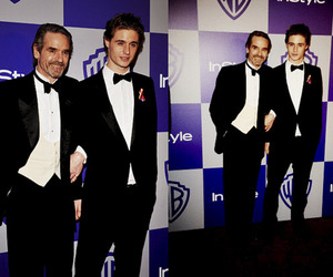 Jeremy Irons and max irons image
