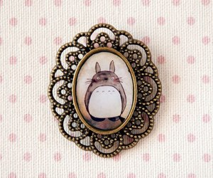 totoro, pink, and pretty image