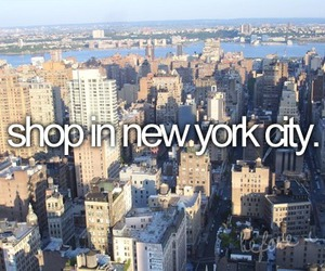 new york and shopping image