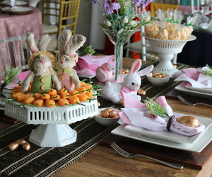 easter, pascoa, and sousplat image