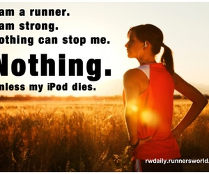 runner and ipod image