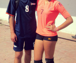 smile, volleyball, and voleibol image
