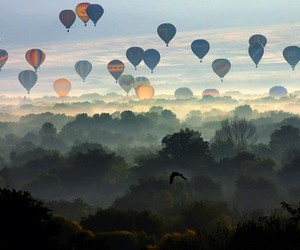 balloons and sky image