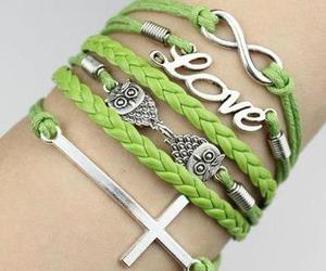 bracelet, infinity, and love image