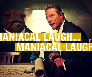 funny, the muppets, and maniacal laugh image