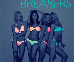 spring breakers, selena gomez, and vanessa hudgens image