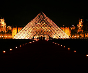 louvre, luxury, and beautiful image