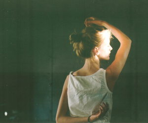 girl, vintage, and light image