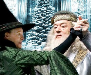 dance, mcgonagall, and harry potter image
