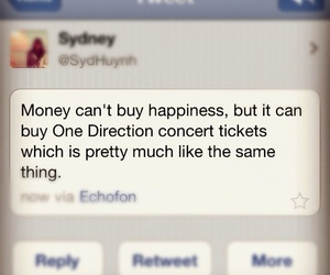 one direction, concert, and happiness image