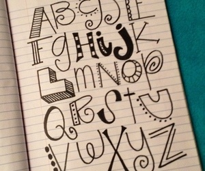 alphabet and letters image