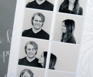 love, couple, and photo image