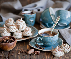 blue, candy, and coffee image