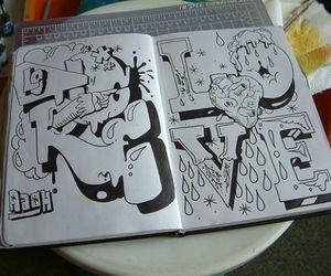 graffiti, tagging, and tag book image