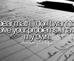 black and white, fuck, and math image