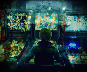 arcade, gaming, and children image
