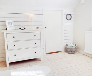 white, room, and love image