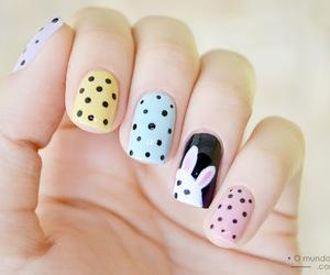 cute, fashion, and nails image