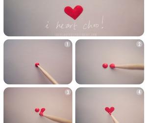 heart, nails, and diy image