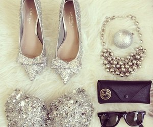 fashion, shoes, and silver image
