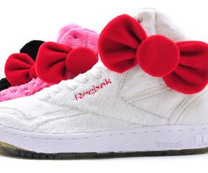hello kitty, shoes, and bow image