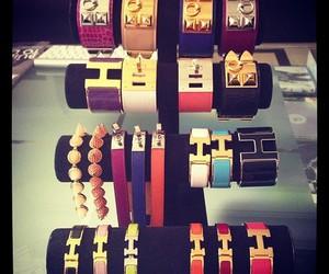hermes, bracelet, and gold image