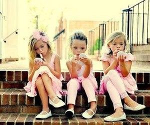 girl, pink, and make up image