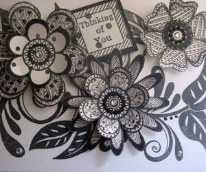 diy, tutorial, and zentangle image