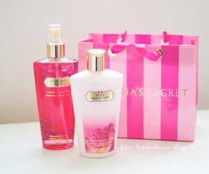 pink, Victoria's Secret, and love image