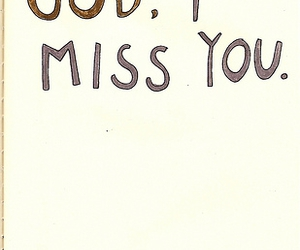 miss, quote, and i miss you image