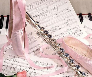 ballet, music, and pink image